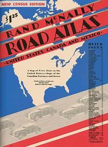 Modern Typefaces Rand Mcnally Road Atlas 95th Anniversary