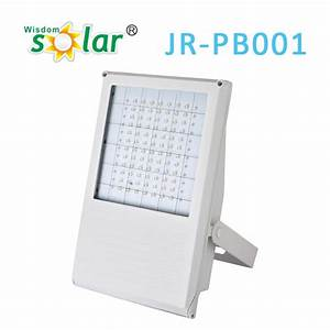 Motion activated solar powered led security light flood