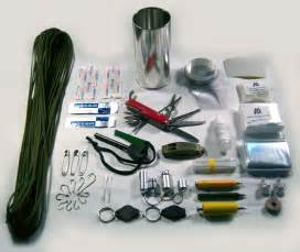 Wilderness Survival Gear Kits