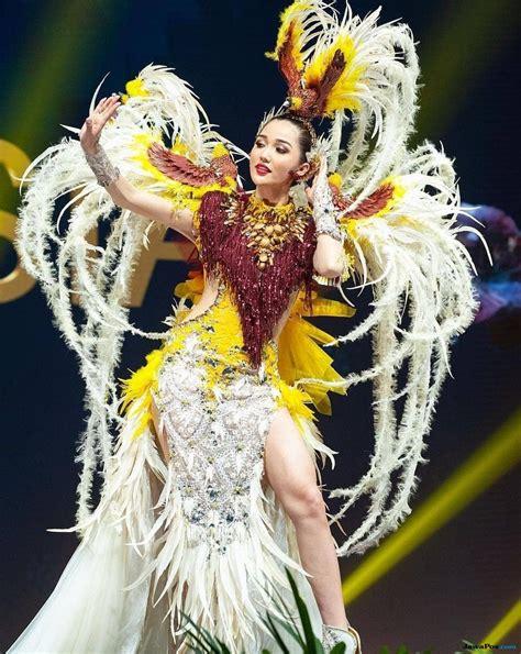 kostum nasional fergia jadi favorit juara di miss universe 2018