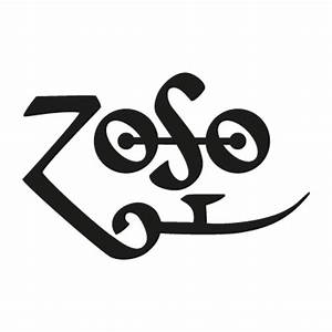Led Zeppelin - Zoso vector logo - Led Zeppelin - Zoso logo ...