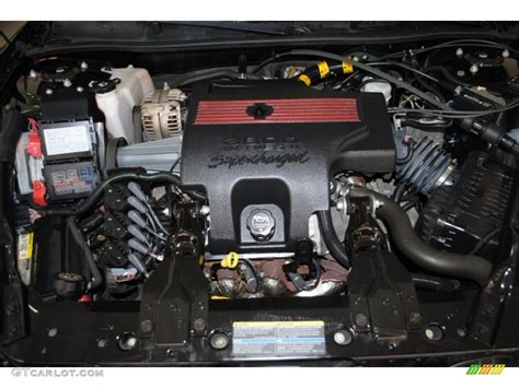 Supercharged V6 Engine by 2004 Chevrolet Monte Carlo Intimidator Ss 3 8 Liter
