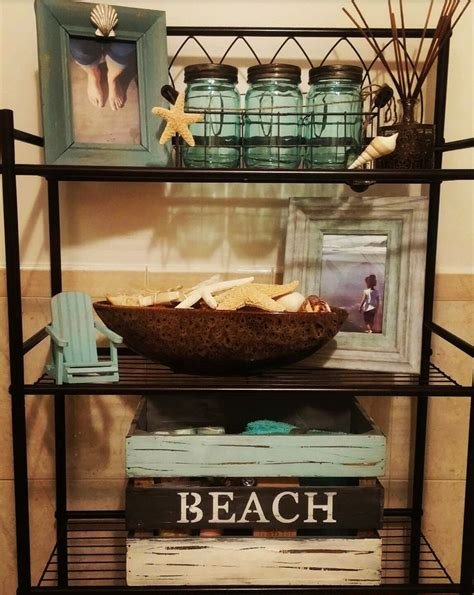 beach theme bathroom ideas   pinterest