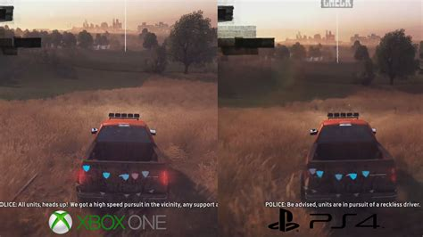 the crew 1 the crew visual analysis ps4 vs xbox one vs pc vs xbox 360