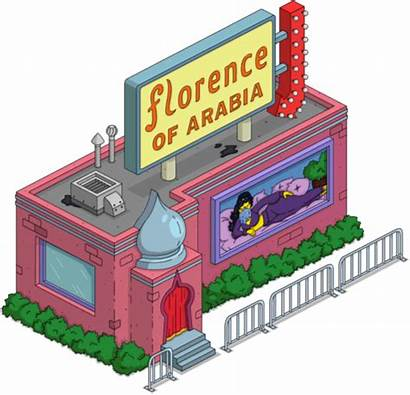 Simpsons Tapped Simpson Florence Arabia Clown Krusty