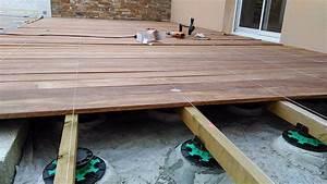 Pose Terrasse Bois Sur Gravier : co t terrasse bois sur graviers 15 messages ~ Premium-room.com Idées de Décoration