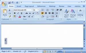 Ms Word 2007  Display Unicode Characters