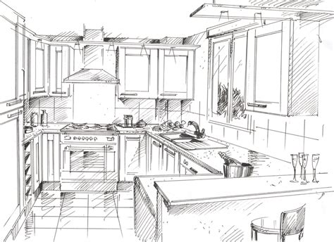 dessiner en perspective une cuisine photos de conception de maison agaroth