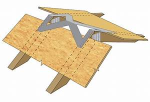 roof truss brackets quick framer universal storage shed With 2x4 roof trusses
