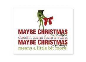 Grinch Christmas Quotes Sayings