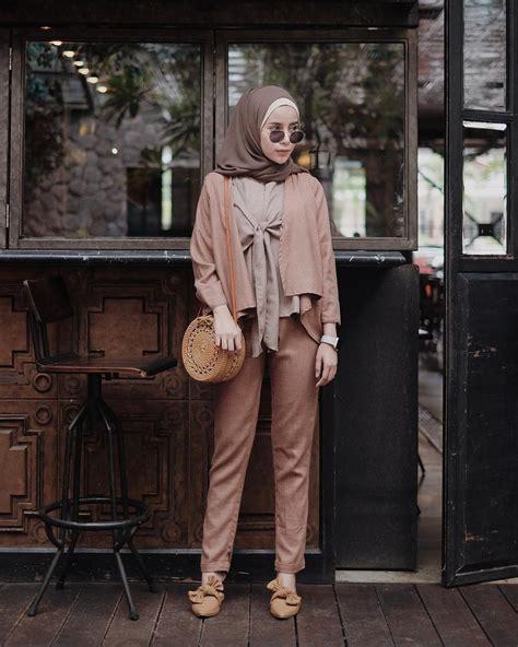 ootd baju hijab kekinian ala selebgram