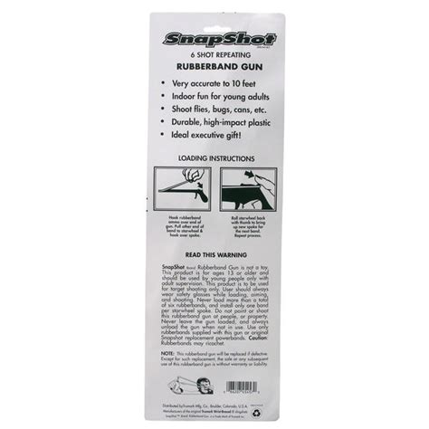 Trumark Mag45 Rubber Band Gun Trumark Buy Online Now