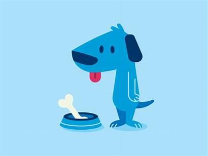 Dog Greedy Cartoon Dogs Dribbble Bone Animation