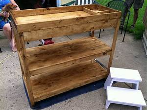 Ana White Simple Changing Table - DIY Projects