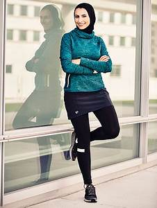 Womenu0026#39;s Running Magazine Features a Runner Who Wears a Hijab on Their Cover