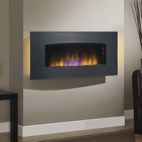 wall mount electric fireplaces hanging fireplace