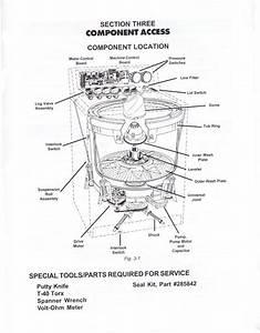Amana Washing Machine Parts Diagram