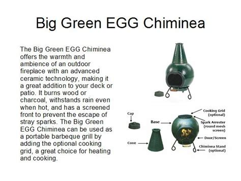 big green egg chiminea big green egg chiminea 4 patio heating cooking