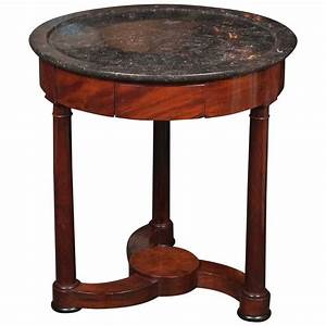 Marble Top Gueridon Table For Sale At 1stdibs