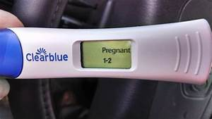 Pics For > Clear Blue Positive Pregnancy Test 1 2 Weeks