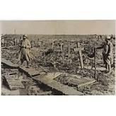 Graveyard at Passchendaele, 1917.   British Army First World War