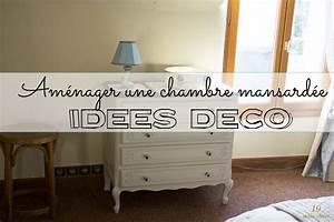 Idees Deco Chambre : am nager une chambre mansard e id es d co et rangement ~ Melissatoandfro.com Idées de Décoration