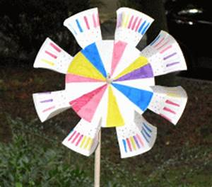 Windräder Basteln Mit Kindern : pappteller windrad basteln ~ Markanthonyermac.com Haus und Dekorationen