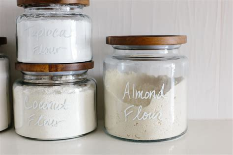 wooden kitchen storage jars pantry organization tips for a creating a healthy pantry 1646