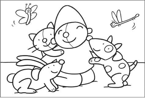 Kleurplaat Pompom Lente by Kleurplaat Pompom Pasen Knutselen Kleuters Lente Sketch