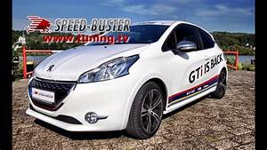 Peugeot 208 Tuning : peugeot 208 gti with speed buster chiptuning box youtube ~ Jslefanu.com Haus und Dekorationen