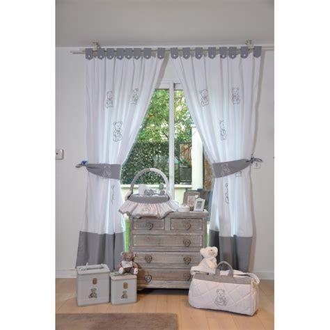 rideau chambre bébé rideaux de chambre mon ami l 39 ourson