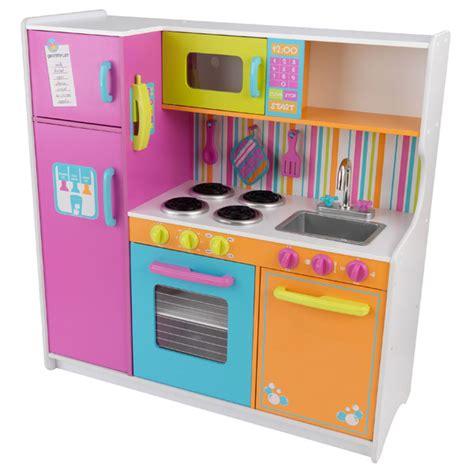 grande cuisine kidkraft grande cuisine de luxe aux couleurs vives de kidkraft
