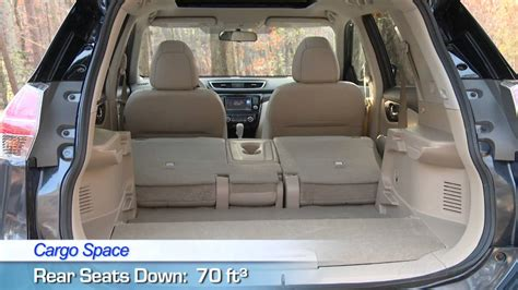 nissan rogue interior review youtube