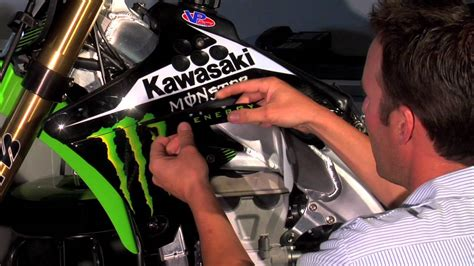 Kaos One One Graphic 7 one industries how to install motocross graphics