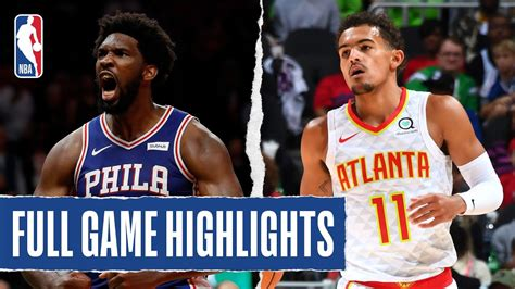 With their backs pressed firmly against the wall and facing elimination in game 6 on friday night, the philadelphia 76ers responded in a major way. 76ERS at HAWKS | FULL GAME HIGHLIGHTS | October 28, 2019 ...