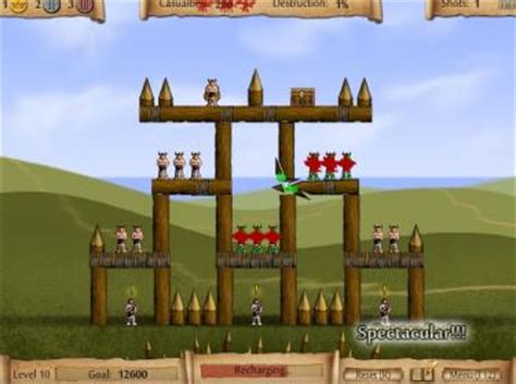 castle siege flash catapult where we feature free flash catapult