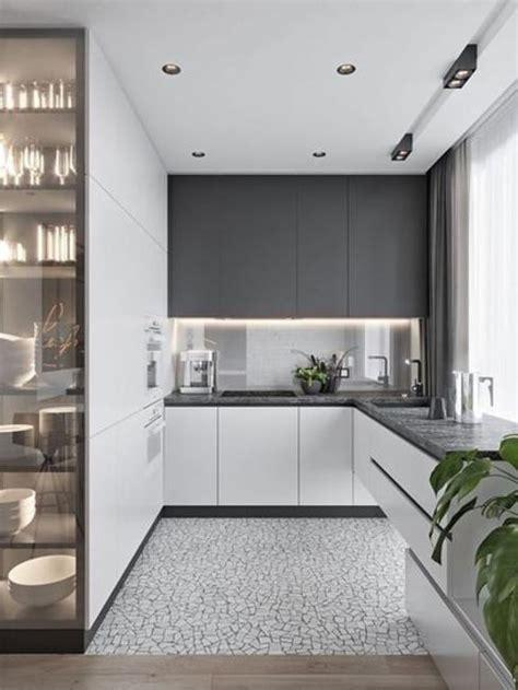 sleek contemporary kitchen cabinets minimalist handles
