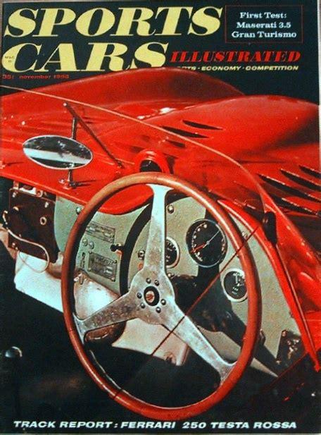 sports cars illustrated magazine sports cars illustrated 1958 nov 100 6 250tr id19 7951