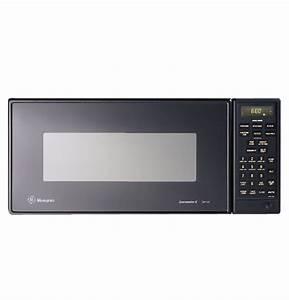 Ge Monogram U00ae Black 0 9 Cu  Ft  Compact Microwave Oven With