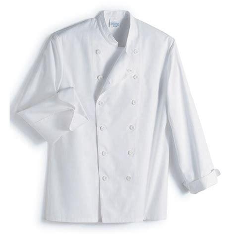 vestes de cuisine veste cuisine col officier 100 coton