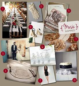 Tbdress Blog Music Themed Wedding Is Inspiring And Fun