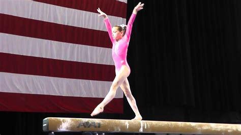 norah flatley balance beam  pg championships jr