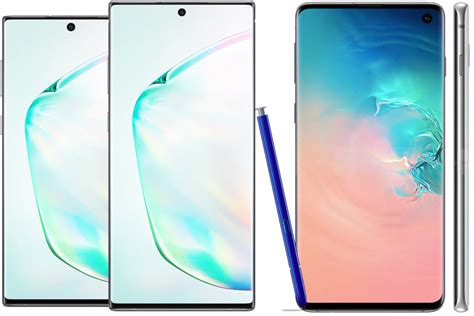 samsung galaxy note 10 galaxy s10 which high priced premium phone should you buy pcworld
