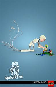 Senior thesis ad campaign for lego on behance for Lego ads tejasakulsin