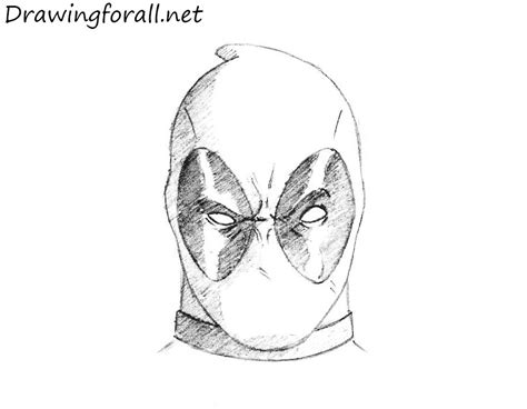 mask deadpool coloring pages print coloring