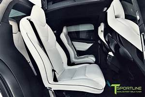 interior: Tesla Model 3 Gray White Interior