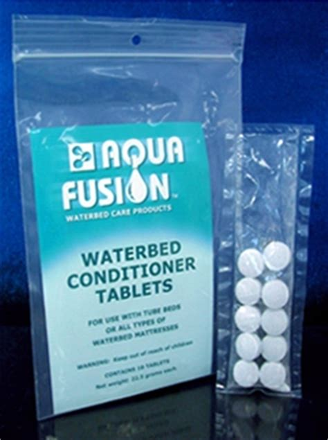 waterbed tablet conditioner  year
