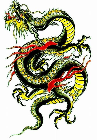 Dragon Chinese Background Dragons Clipart Tattoos Transparent