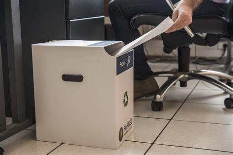 recyclage papier bureau recyclage des papiers de bureau cap sur 2018