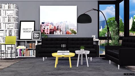 living room conversion pack  mxims teh sims